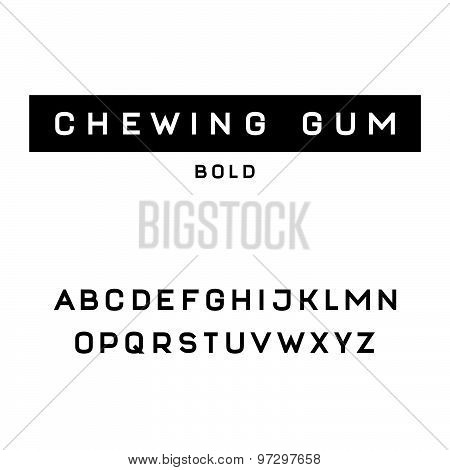 Simple and clean sans serif font