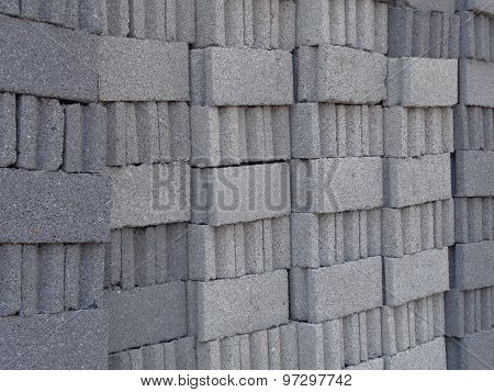 grey bricks background