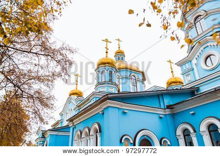 Orthodox church  in  Russia