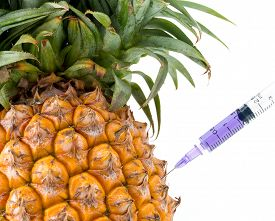 picture of modification  - Genetic Modification pineapple fruit modification strange surreal invention - JPG