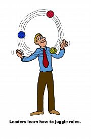 foto of juggling  - Business image showing a businessman juggling three balls with the words - JPG