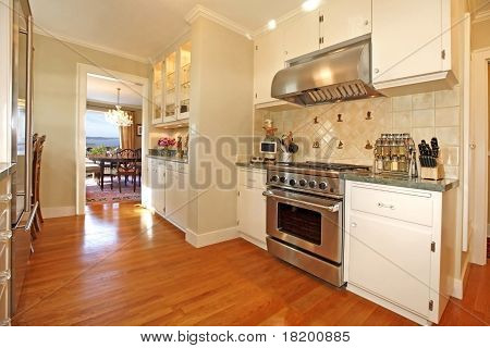 Luxury White Cream Italian Kitchen