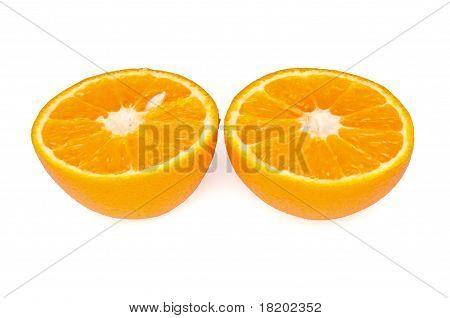 Cut In Half An Orange