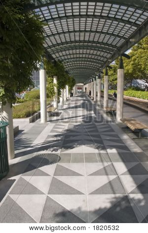 Yerbabuena Gardens Hallway