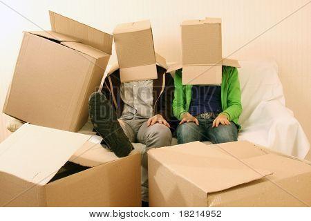 Box people