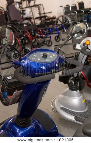 Mobility Scooter Front Tiller