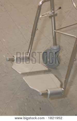 Shower/Toilet Chair Footplates