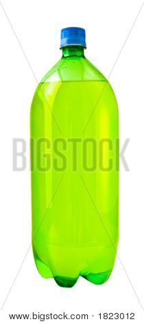 Green Soda Bottle