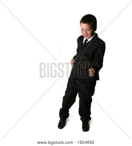 Boy In A Tuxedo/Business Suit