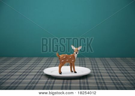bambi on the dish