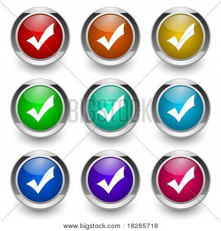 validation button set