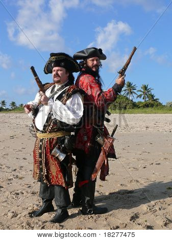 Two Dueling Pirates