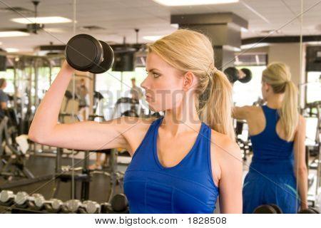Frau Gewichtheber 4
