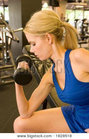 Frau Gewichtheber 8