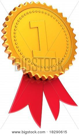 Auszeichnung Multifunktionsleiste ersten Platz Goldene Abzeichen