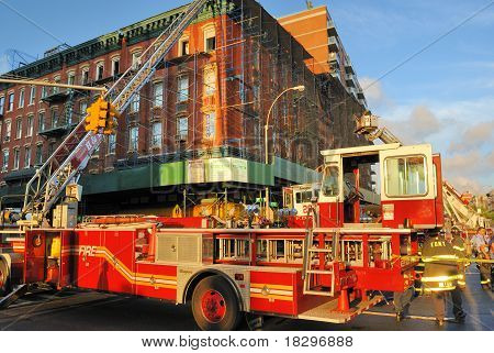 Fire In New York City