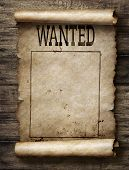 Wanted for reward poster poster