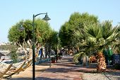 stock photo of gumbet  - Beach street - JPG