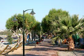 picture of gumbet  - Beach street - JPG