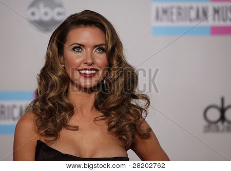 LOS ANGELES - NOV 20:  Audrina Patridge arrives to the American Music Awards 2011  on November 20, 2011 in Los Angeles, CA