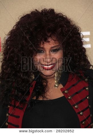 LOS ANGELES - DEC 11:  Chaka Khan arrives to the CNN Heroes: All-Star Tribute 2011  on December 11, 2011 in Los Angeles, CA.