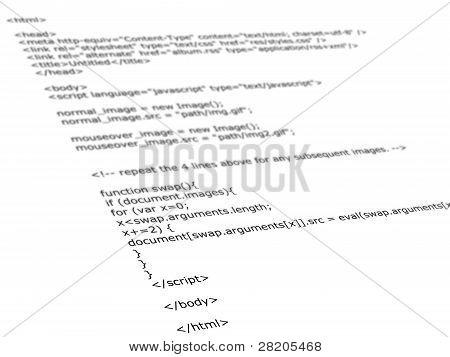 Html Programming Code