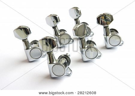 six guitar tuners