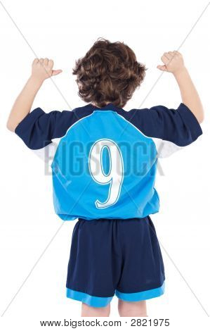 Child With Number Nine