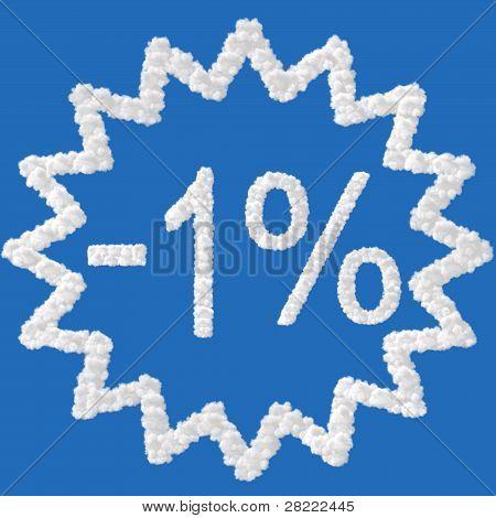 Discount - 1 Percent
