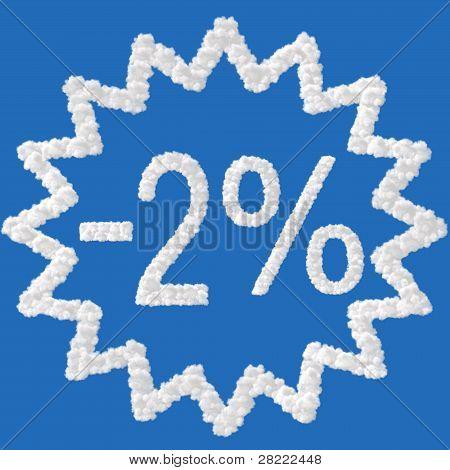 Discount - 2 Percent