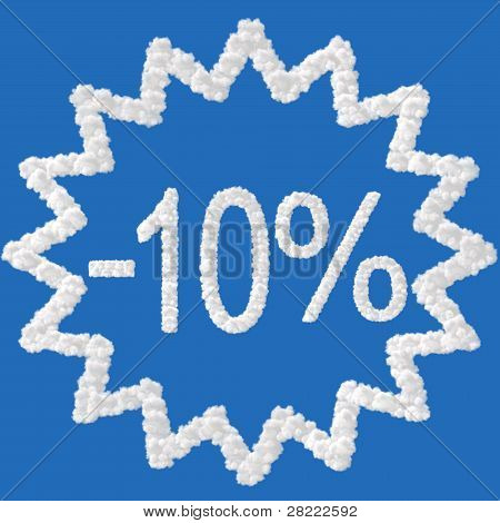 Descuento - 10 %
