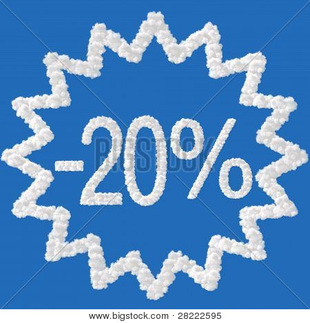 Discount - 20 Percent