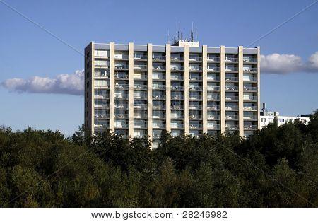 Skyscraper In Cuxhaven (germany)