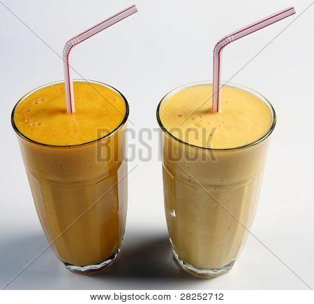 mango shake and mango lassi