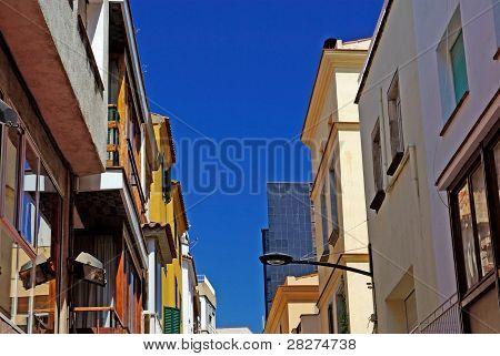 Typical Cityscape Of Lloret De Mar. Costa Brava, Spain.