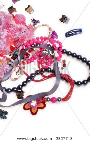 Girl'S Plastic Jewelry