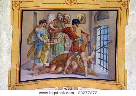 A decapitação de São João Batista