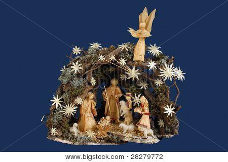 A nativity scene, creche, or crib, is a depiction of the birth of Jesus