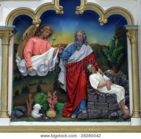 Abraão sacrificar Isaac