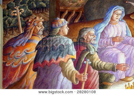 Nativity Scene, Adoration of the Magi