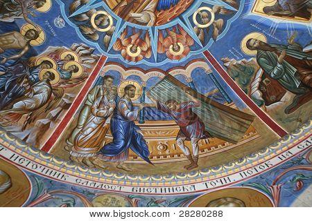 Vitezda- miracle of Jesus healing the paralyzed