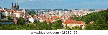 Prague, Czech Republic,  Panorama.