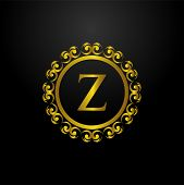 Luxury Logo, Letter Z Logo, Classic And Elegant Logo Designs For Industry And Business, Interior Log poster