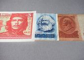 Vintage Withdrawn Banknotes Of Cccp, Ddr, Cuba poster