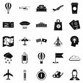 Craft Icons Set. Simple Set Of 25 Craft Icons For Web Isolated On White Background poster