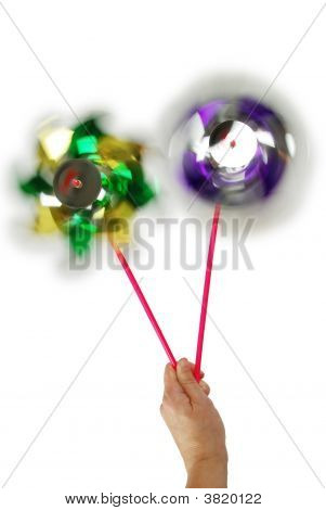 Pinwheels Spinning