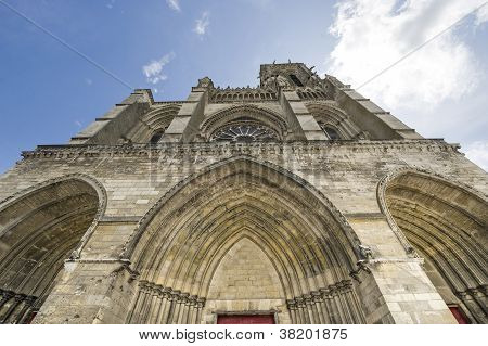 Cathedral Of Soissons