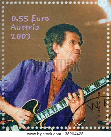 Stamp Keith Richards