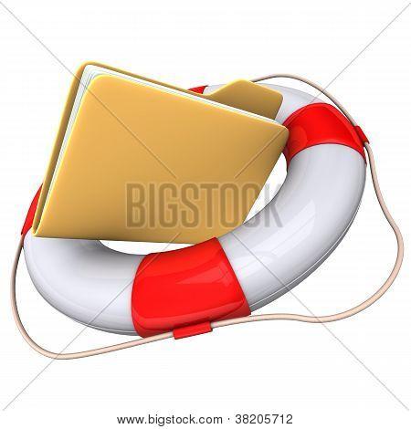 Folder Lifebelt