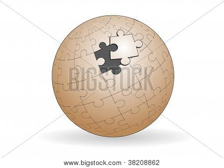 Spherical Jigsaw